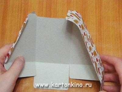 Коробочка для мыльного тортика: МК