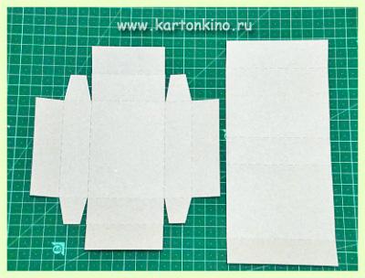 Коробочки для нарезного мыла: спичечный коробок