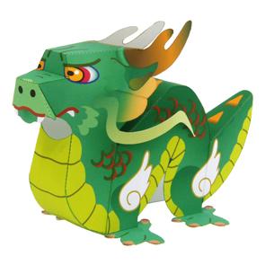 Как сделать дракона из бумаги