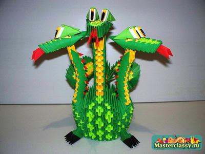 Модульное оригами дракон Дракон модульное оригами.