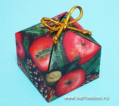 Подарочные коробочки. Мастер-класс