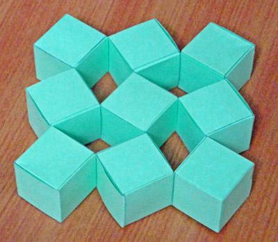 оригами ёлочки по схеме