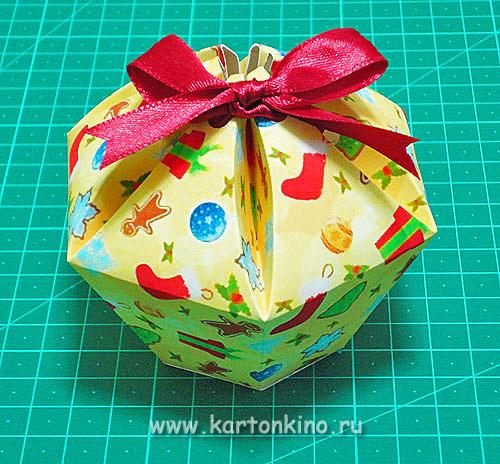 Коробочки для мыльных пирожных: мастер-класс