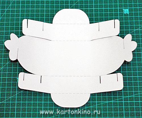 Коробочки из картона с застёжками