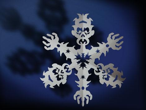 Снежинка-зомби