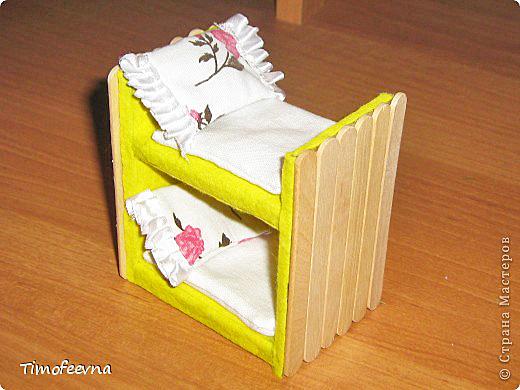 Мебель для маленьких игрушек своими руками из бумаги 7