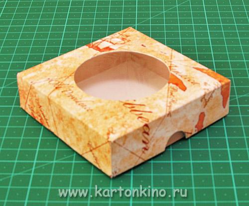 Коробочка для мыла Компас