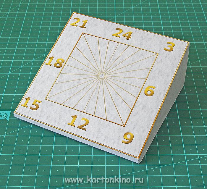 Простые солнечные часы своими руками