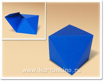 Коробочка - октаэдр