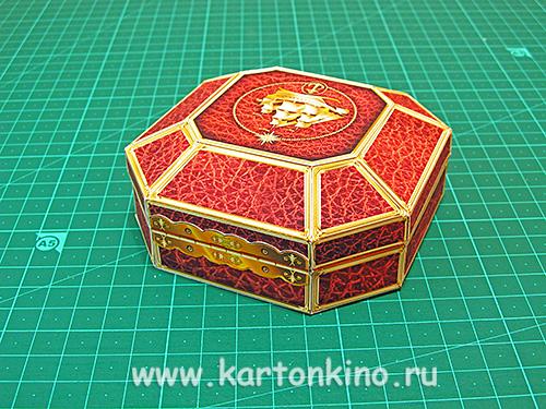 МК: подарочный футляр для мыльного компаса