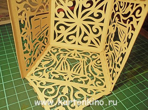 Мастер-класс: сказочный домик из бумаги