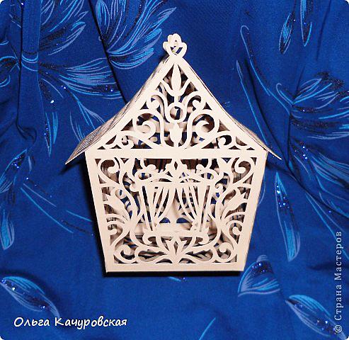 Сказочный домик из бумаги: