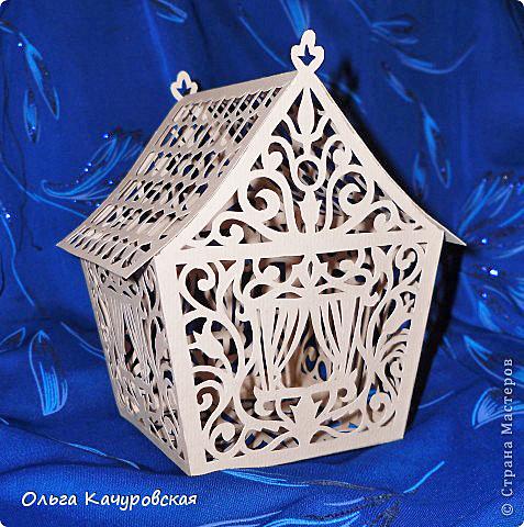 Сказочный домик из бумаги: мастер-класс
