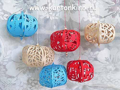 Новогодние шарики: