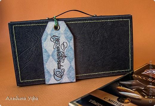 Скрапбукинг идеи: портфельчики для шоколадок
