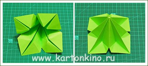 Оригами елочка