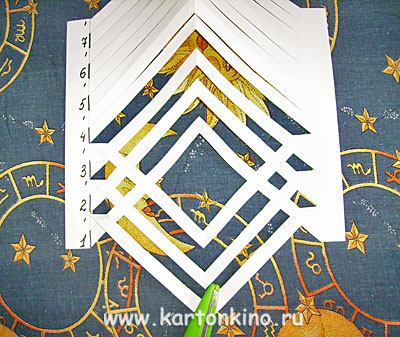 Открытка-плетенка