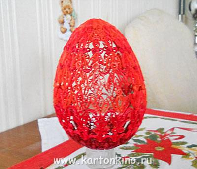 Яйца фаберже квиллинг мастер класс идеи #10