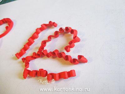 Ажурное сердце в технике квиллинг