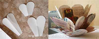 Ажурный подсвечник из бумаги (вариант 2)