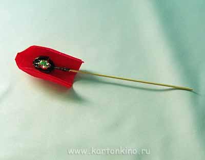 Роза из конфет своими руками