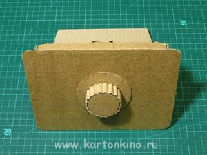 Настоящий сейф из картона- хранилище для самого ценного