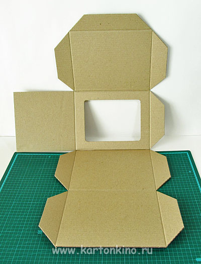 Коробка из крафта своими руками 109