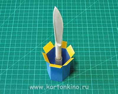 Детские коробочки: карандашики