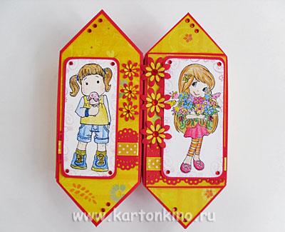Оригинальные коробочки-конфетки