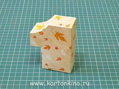 Коробочка-единичка для подарка первокласснику