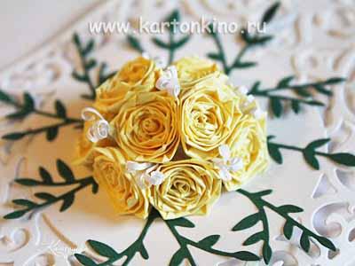 Квиллинг розы (мастер-класс)