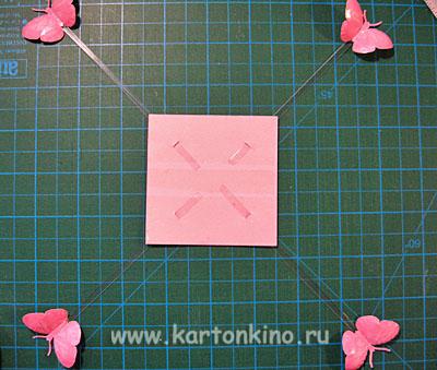 Magic box с бабочками: мастер-класс