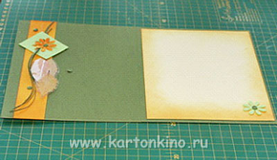Скрапбукинг открытка с Днём учителя: мастер-класс