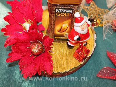 Новогоднее оформление кофе