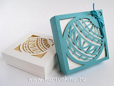 Как сделать квадратную коробку своими руками из