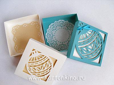 Упаковка под новогодние подарки своими руками