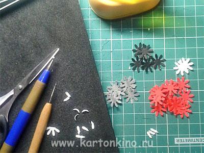 Елочный шар с бумажной миниатюрой (мастер-класс)