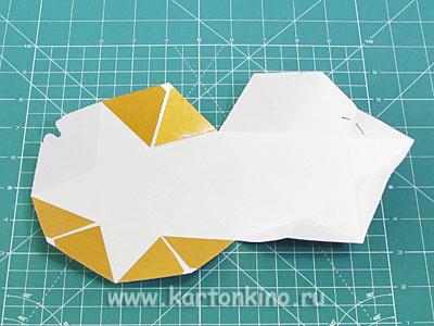 """Коробочка """"Звезда"""" из бумаги"""