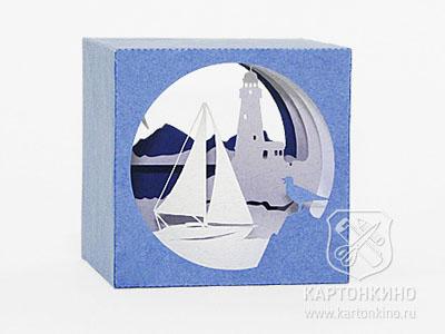 Куб-туннель из бумаги: пошаговая инструкция