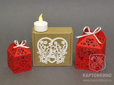 Романтические коробочки