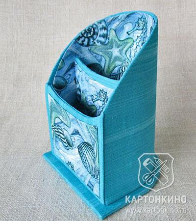 Подставка из картона для телефона