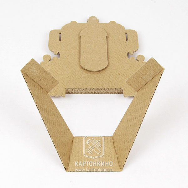 Как сделать фоторамку из картона